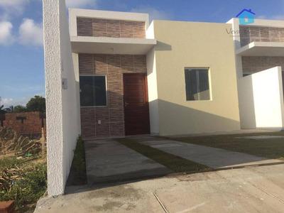 Casa Com 1 Dormitório À Venda, 35 M² Por R$ 90.000 - Praia Do Amor - Conde/pb - Ca0445