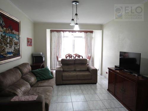 Apartamento Com 2 Dormitórios À Venda, 148 M² Por R$ 530.000,00 - José Menino - Santos/sp - Ap1331