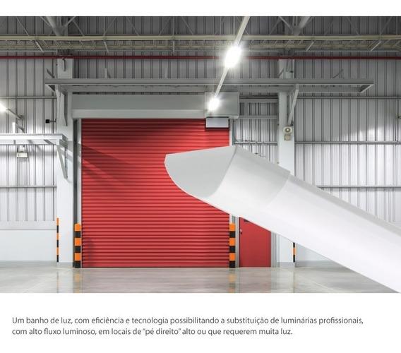 Caixa Com 2 Unidades - Luminária Linear Ksx Pro 45w 4000k