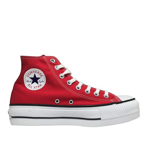 Tênis Converse Chuck Taylor All Star Platform- Vermelho