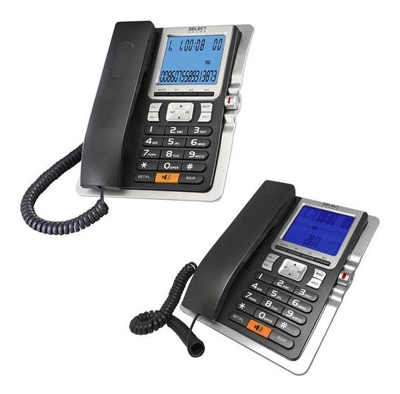 Paquete De 2 Teléfonos Alámbricos Con Manos Libres 8028