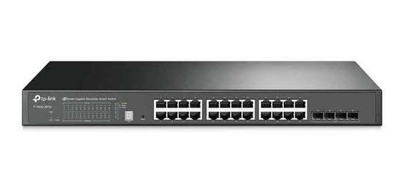 Switch Gigabit 4 Sfp Tplink Tl-sg2424 V3 - 5 Anos Garantia