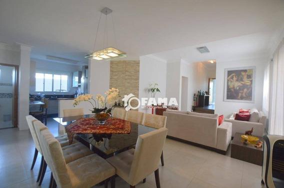 Casa Com 3 Dormitórios À Venda, 210 M² - Condomínio Terras Do Fontanário - Paulínia/sp - Ca1904