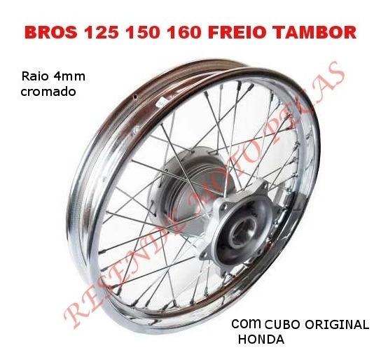 Roda Traseira Montad Nxr/bros 125/150/160 Cubo Original Hond