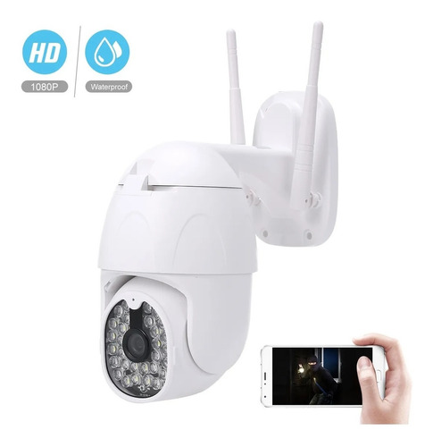 Camara Domo Ip Wifi Hd Motorizada Vision Nocturna App Yoosee