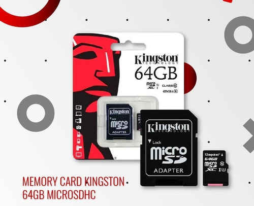 Memoria Micro Sd Kingston 64gb Android Unicos Garantizados