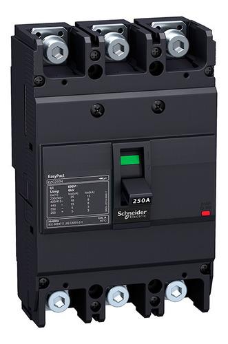 Interruptor Easypact Ezc250n Fijo 160 A 3 P 25 Ka Unidad Tmd