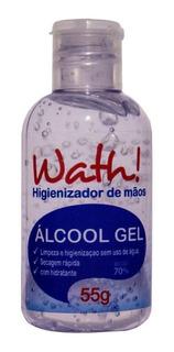 Álcool Em Gel 70% Higienizador De Mãos Com Hidratante - 55g