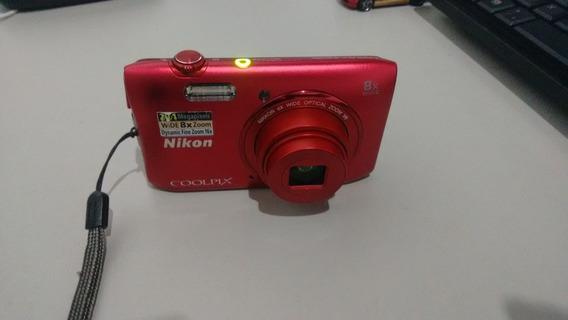 Câmera Digital Nikon Coolpix S3600 Zoom 5x 20.1mp