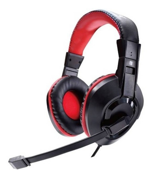 Headphones Gaming Satellite Fene De Ouvido Ae-263 Preto/verm