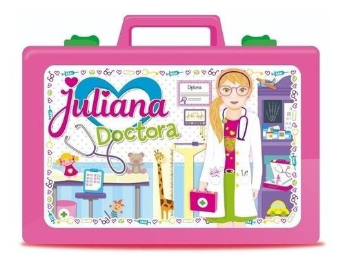 Valija Juliana Doctora Chica Con 18 Accesorios