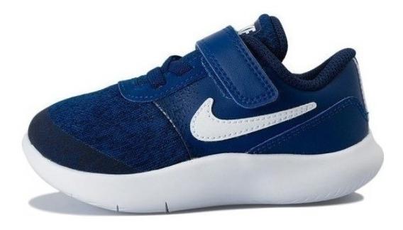 Tenis Nike, Flex Contact, Azul Marino, Talla 14 Y 15