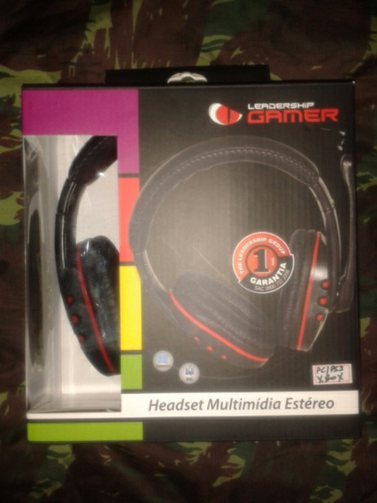 Headset Gamer Leadership Ps3/xbox/pc