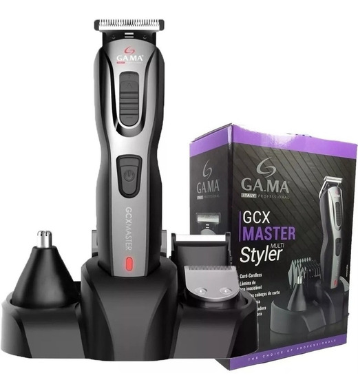 Máquina De Cortar Cabelo Gama Barbeador Barba E Corpo 9 Em 1