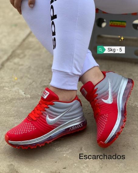 Zapatos Nike Air Max Dif Damas 35 A 40 Skg 5
