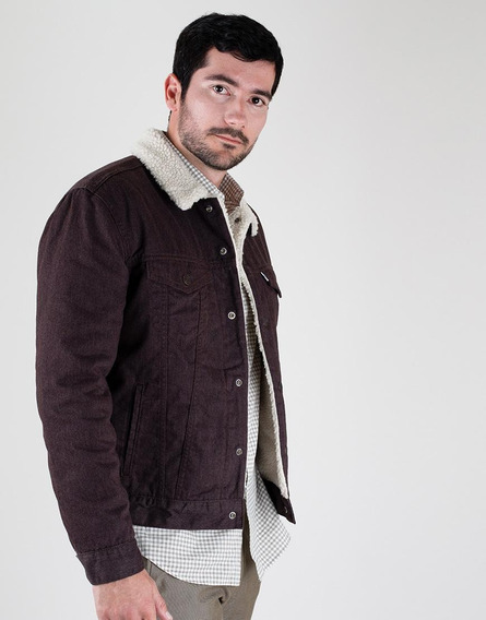 Chaqueta Denim Ovejo Marrón- Levi