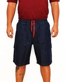 3b15b4df4 Short Jeans Elastico Cos - Bermudas Masculinas no Mercado Livre Brasil