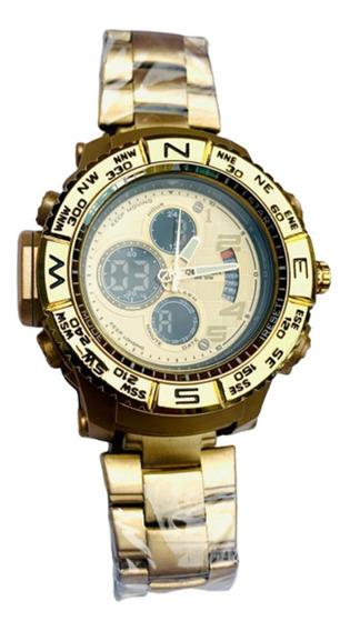 Relógio Masculino Original Lançamento 100% Aprova De Aguá