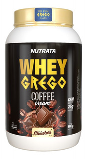 Whey Grego Coffee Cream Chocolate 900 Gr
