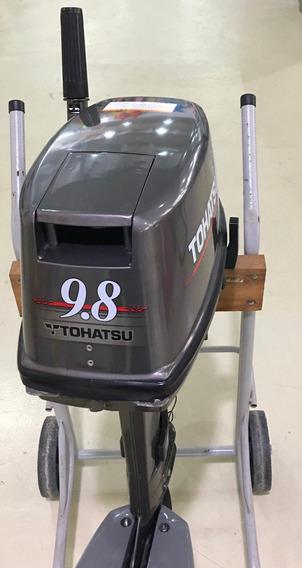 Motor Tohatsu 9.8 Hp 2 Tempos Usado