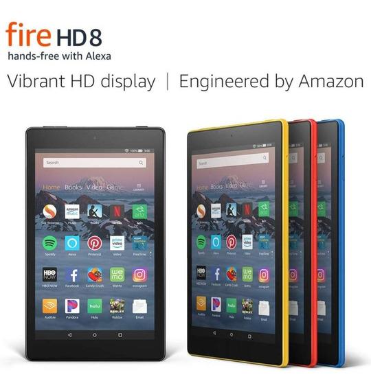 Tablet Kindle Fire Hd 8 (100) 16gb Garantia Tienda Chacao