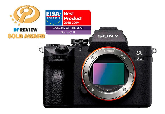 Câmera Digital Sony Alpha 7iii (corpo) Full Frame 24.2 Megap