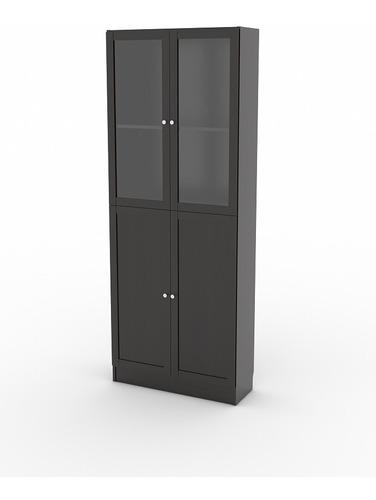 Imagen 1 de 5 de Aparador Dos Puertas, Color Café Oscuro, Fabricado Dinamarca