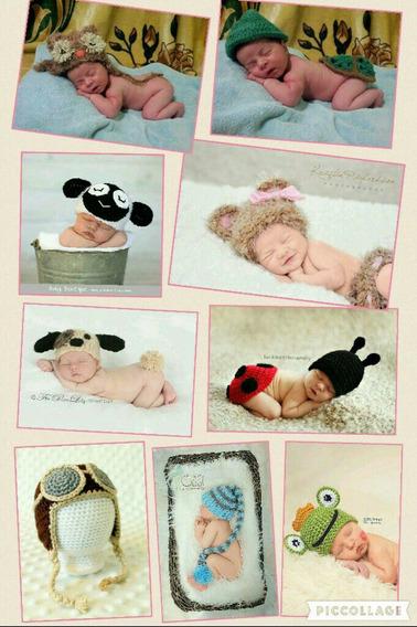 Acessórios Newborn Gorro Crochê