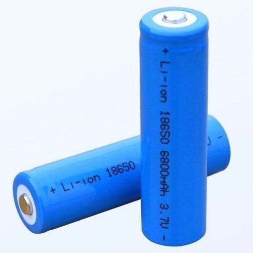 Kit 2 Bateria Recarregável 18650 3.7v Li-ion 5800 Mah