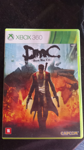 Jogo Xbox 360 Devil May Cry Original