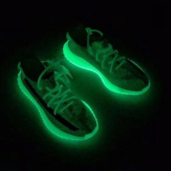 adidas Lançamento Oficial Static Verde Yeezy Boost 350