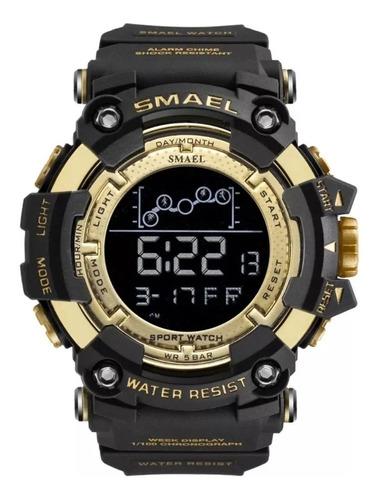 Relógio Militar Esportivo Smael 1802 Original Prova D´água