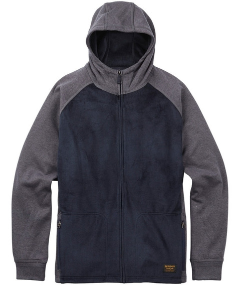 Buzo Técnico Burton Rolston Fleece Full Zip