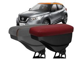 Apoio De Braço Nissan Kicks Artefactum Couro Tecido