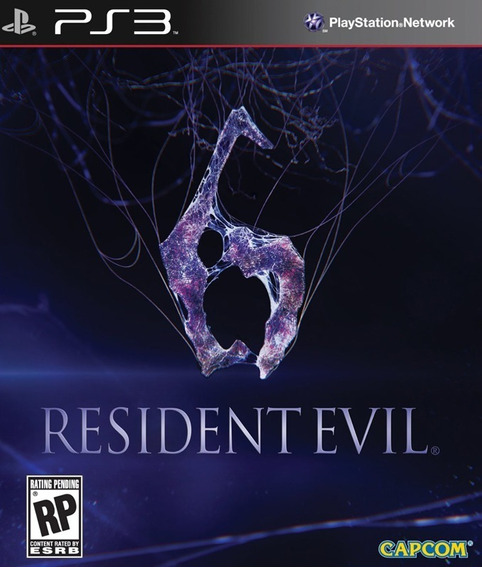 Game Play3 - Residente Evil 6 - Semi-novo Jogo Ps3