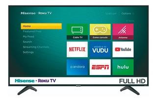Pantalla Smart Tv Hisense 40 Pulgadas Led Con Roku Y Netflix