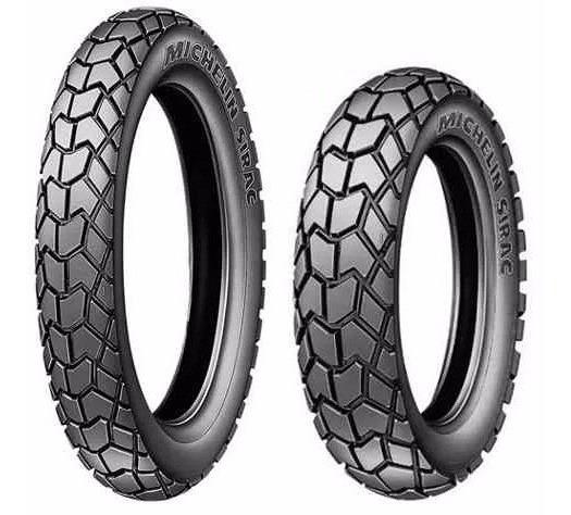 Par Pneu 90/90-19 + 110/90-17 Michelin Sirac Bros Crosser