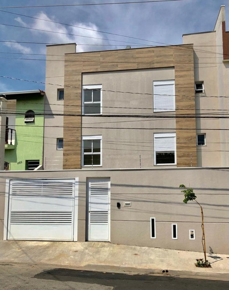 Cobertura Sem Condomínio Com 2 Dormitórios À Venda, 52 M² Por R$ 315.000 - Parque Novo Oratório - Santo André/sp - Co0108