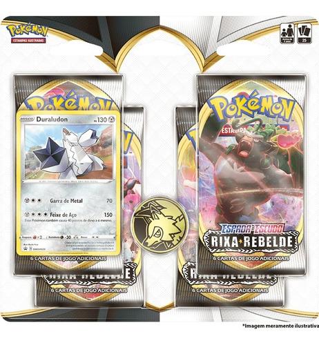Imagem 1 de 1 de Card Game Pokémon Tcg Blister Rixa Rebelde Duraludon