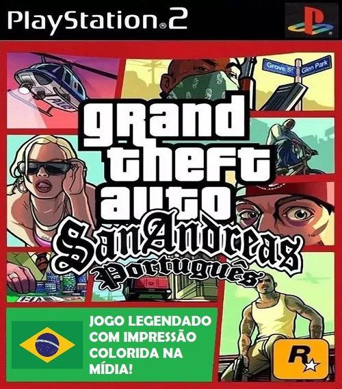 Gta San Andreas Em Português - Playstation 2