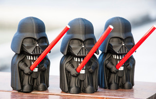 Vader Porta Birome - 13cm - Unico!!