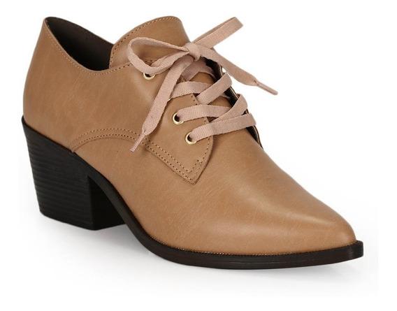 Sapato Salto Oxford Bruna Rocha