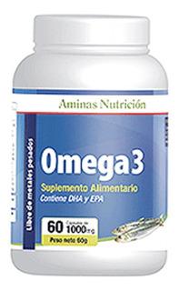 Omega 3 - 60 Capsulas De 300mg