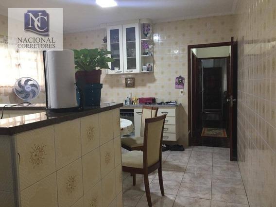 Casa Com 2 Dormitórios À Venda, 110 M² Por R$ 500.000 - Vila Alto De Santo André - Santo André/sp - Ca2783