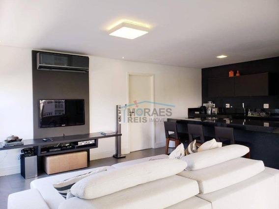 Apartamento Com 1 Dormitório À Venda, 107 M² Por R$ 1.850.000,00 - Vila Nova Conceição - São Paulo/sp - Ap14605