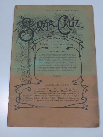 Revista Santa Cruz: Religião Letras Artes Pedagogia Ano 1903