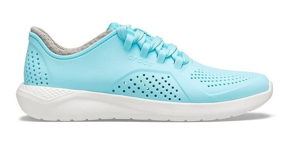 Zapatillas Crocs Mujer Literide Pacer Ice Blue
