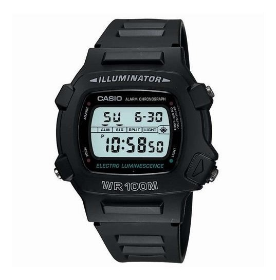 Relogio Casio Illuminator Retro - W-740-1vs