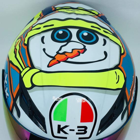 Valentino Rossi Boneco De Neve Promoção