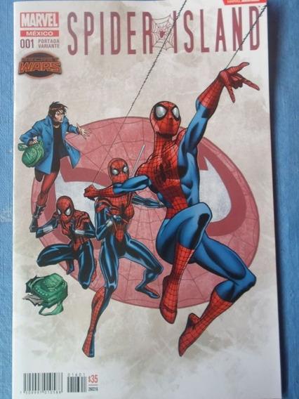 Comic Spiderman Island #001 Editorial Televisa